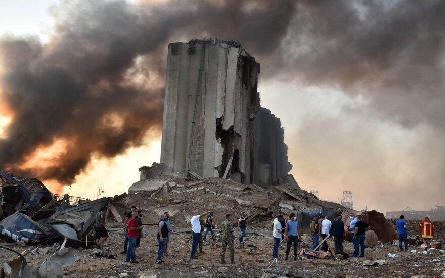 Число погибших при взрывах в Бейруте выросло до 78 человек