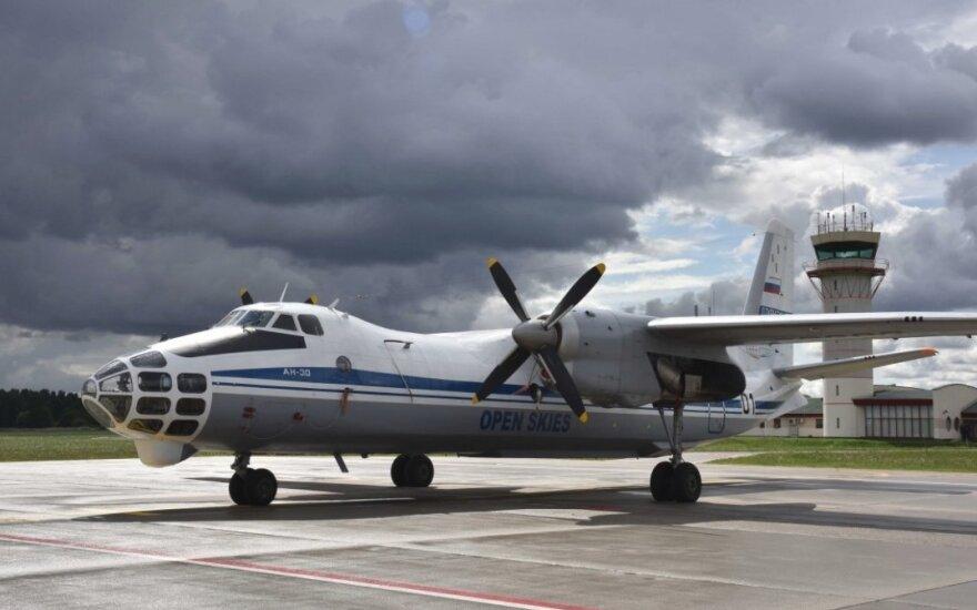 Rusijos ir Baltarusijos ginkluotės kontrolės specialistai virš Lietuvos atliks žvalgomąjį skrydį