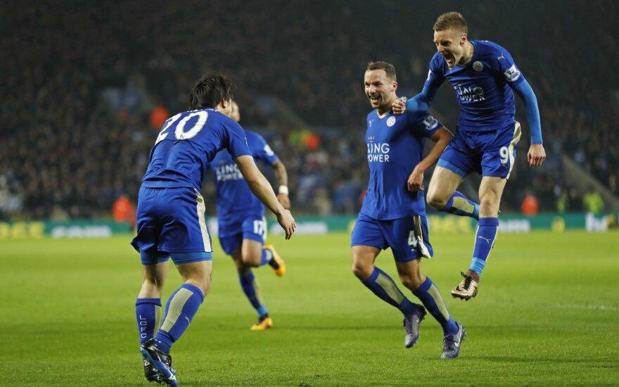 """""""Leicester"""" klubas prieš metus tokiu metu buvo paskutinis"""