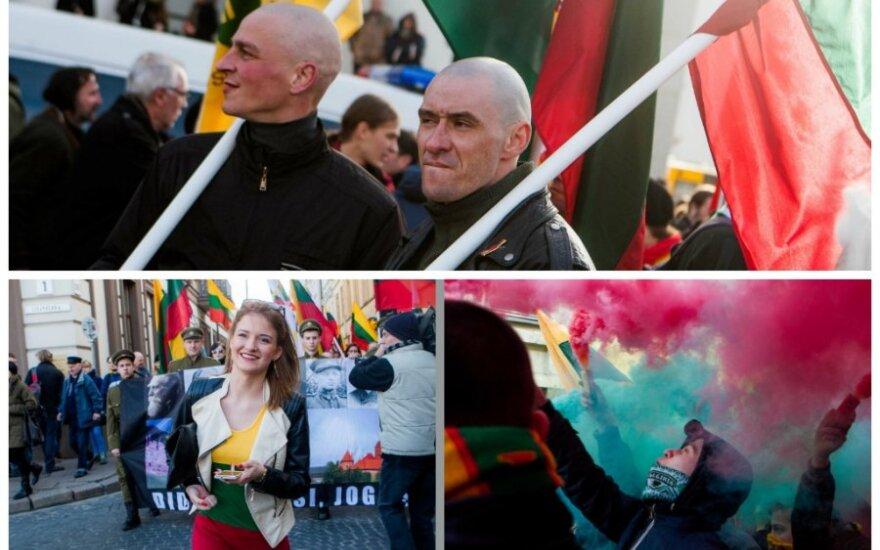 """Marsz narodowców, a jednak """"Litwa - dla Litwinów"""""""