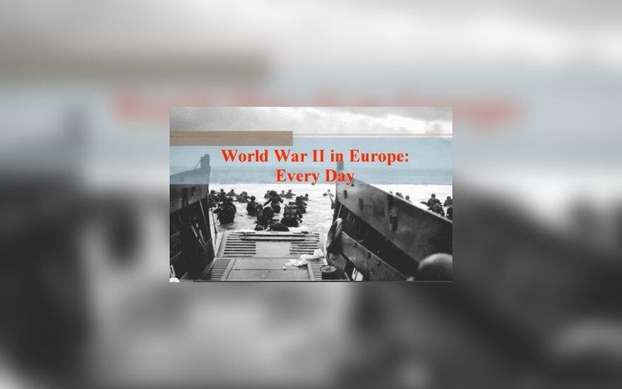 ВИДЕО: как ежедневно менялась карта Европы во Второй мировой войне