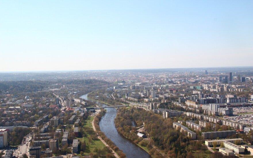 Vilnius iš paukščio skrydžio
