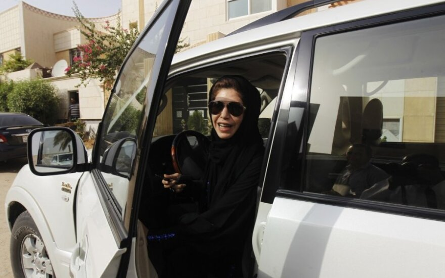 Moteris vairuotoja Saudo Arabijoje