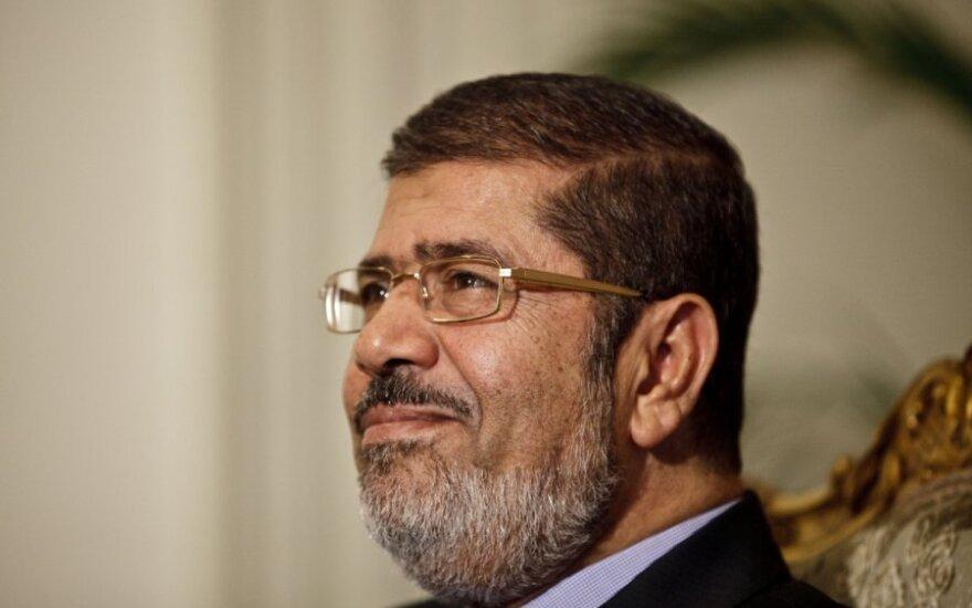 Egipto prezidentas Mohammedas Morsi