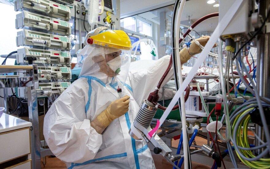 Еще один антирекорд: в Литве за сутки установили 2848 новых случаев коронавируса