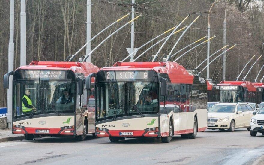 "Nauji Vilniaus troleibusai // ""Made in Vilnius"" nuotr."