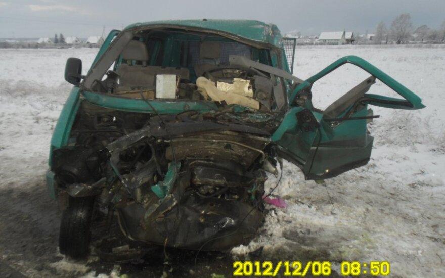 В аварии пострадали пять человек, один – в критическом состоянии