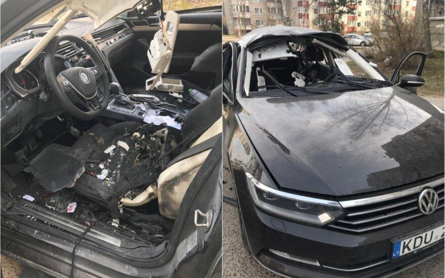 Взорван автомобиль одного из руководителей сети Maximа, преступление поражает наглостью и глупостью