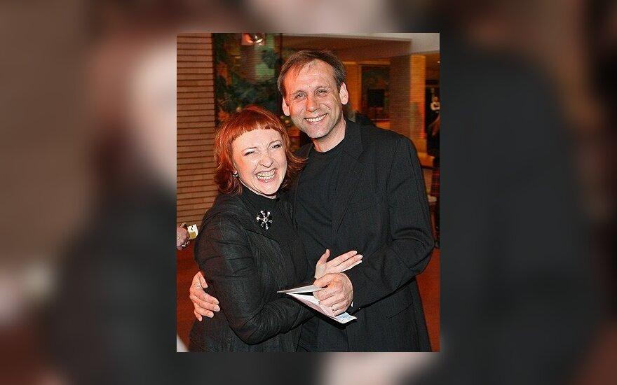 Asta Baukutė su vyru Kęstučiu