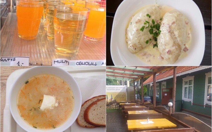 Обеды дня в палангских кафе: в некоторые места возвращаться не хочется