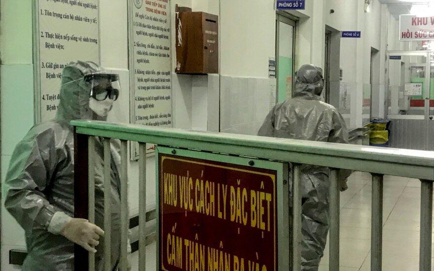 Из опасений коронавируса МИД Литвы рекомендует не посещать Центральный Китай