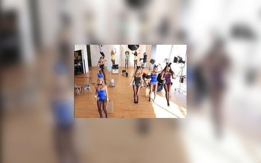 Обнаженные модели Playboy станцевали Harlem Shake