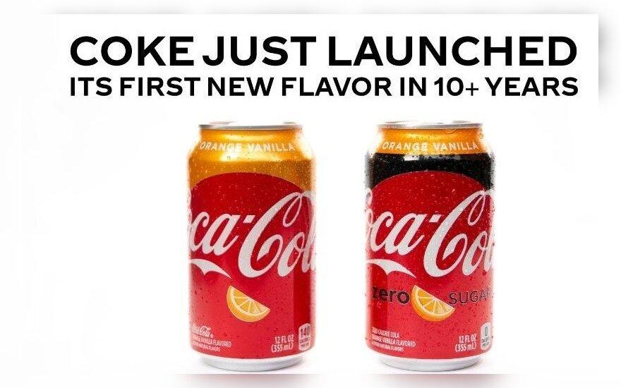 У Coca-Cola появится новый вкус — апельсин с ванилью
