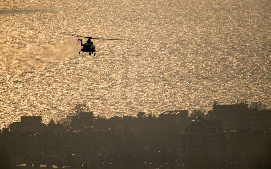 Подробности крушения Ми-8 в Красноярском крае: от вертолета ничего не осталось