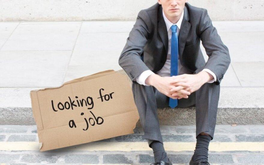 Уровень безработицы в Литве в начале апреля оставался 12,4%