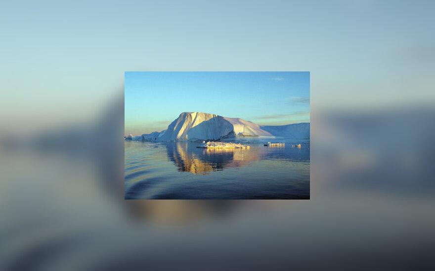 Šiaurė, ledas, ledynai