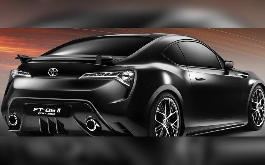Cпорт-купе Toyota FT-86: новые подробности
