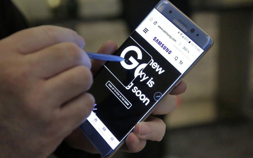 Samsung отзывает смартфоны Galaxy Note 7