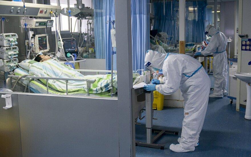 Koronaviruso ligonis Kinijoje