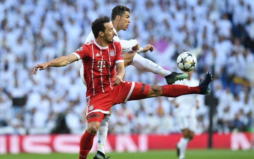 """UEFA Čempionų lygos pusfinalio atsakomosios rungtynės: """"Real"""" - """"Bayern"""""""