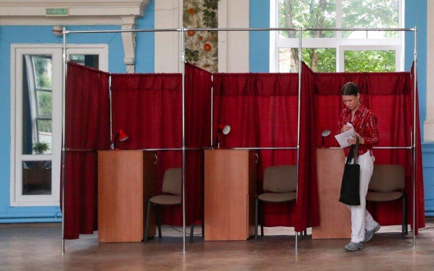 Baltarusijoje prasidėjo išankstinis balsavimas prezidento rinkimuose