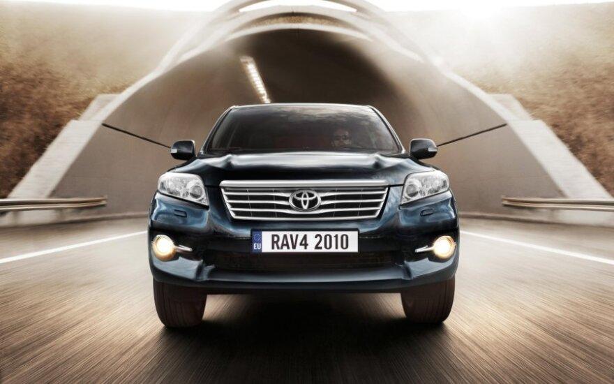 В Сеть попали первые фотографии нового Toyota Rav4