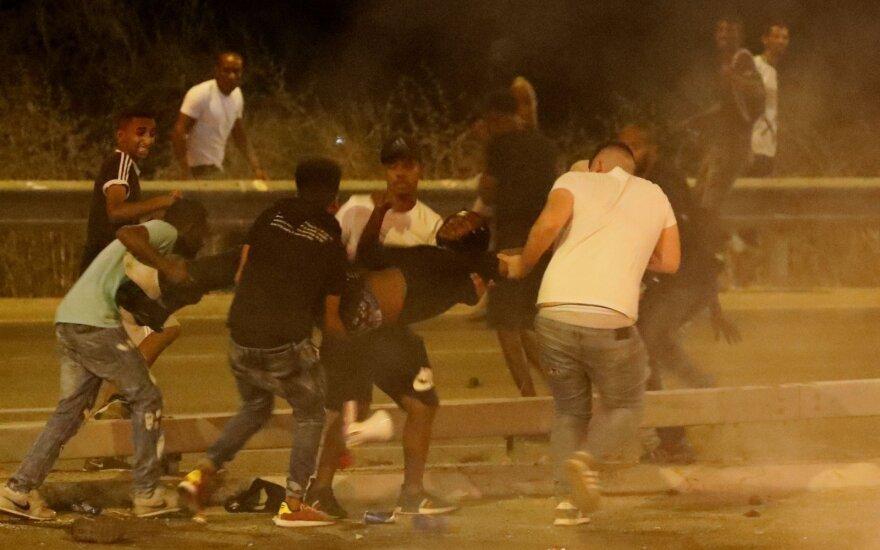 При протестах против насилия полиции в Тель-Авиве задержаны десятки человек