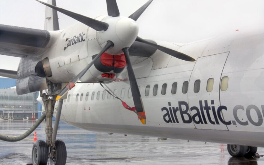 airBaltic сворачивает наземный бизнес в Таллинне