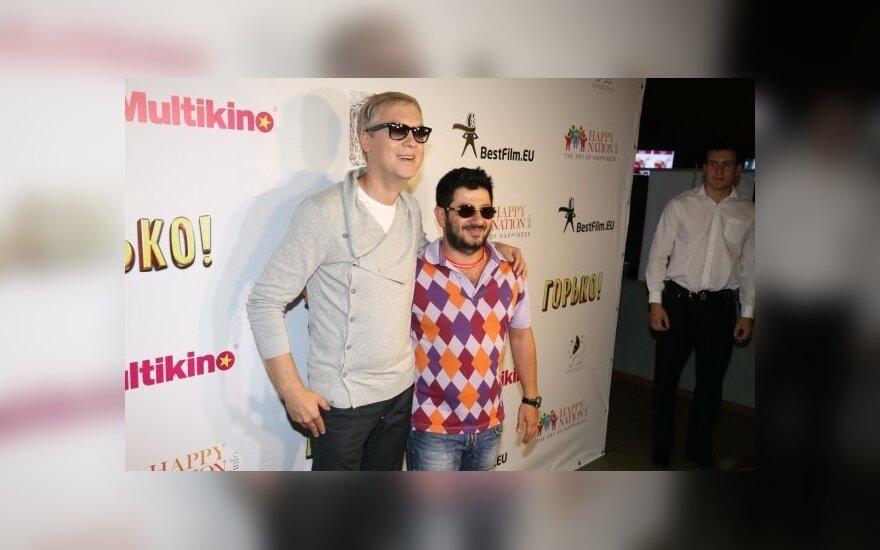 S. Svetlakovas ir M.Galustianas