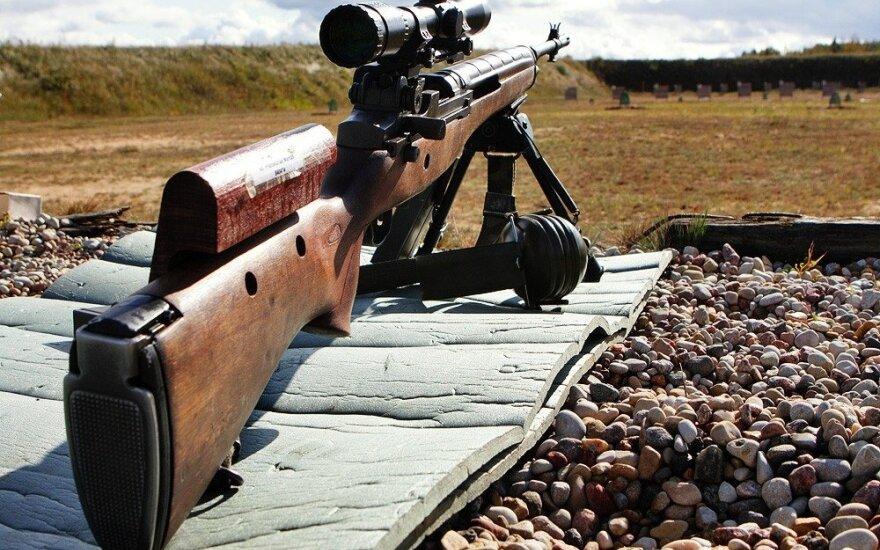 После решения суда – хаос: все американские винтовки в Литвы вернуть не получается