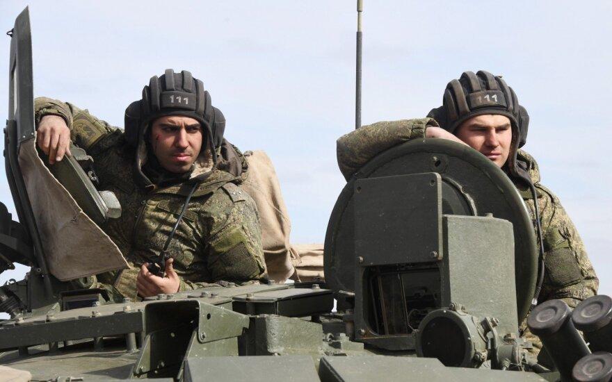 На юге России начались военные учения накануне маневров НАТО в Грузии