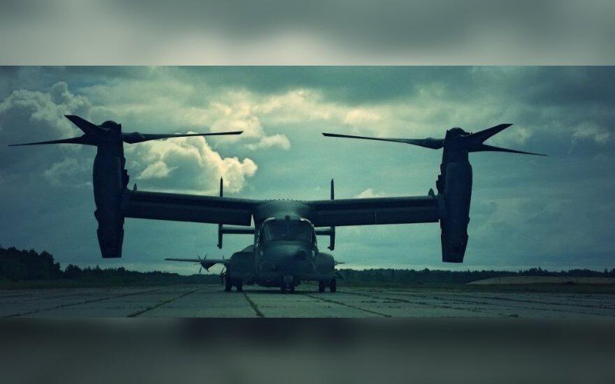Гибрид вертолета и самолета вблизи: конвертоплан CV-22 Ospray