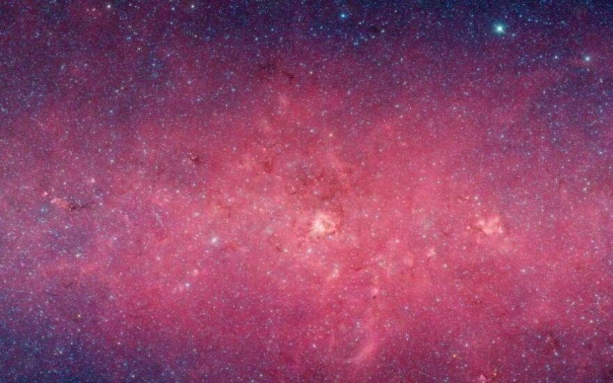 Pats raiškiausias mūsų galaktikos vaizdas