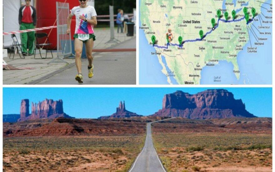 Aidas Ardzijauskas mėgins perbėgti JAV per 45 dienas