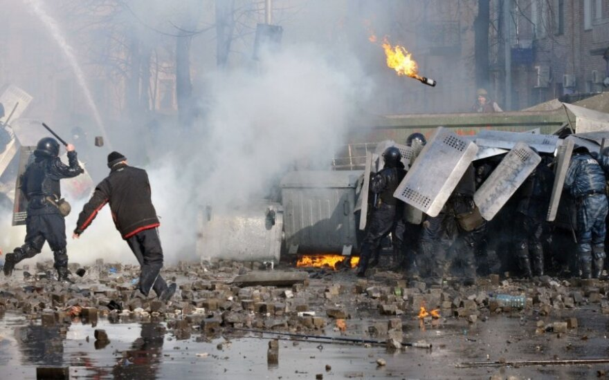 Napięta sytuacja na Ukrainie, są ofiary
