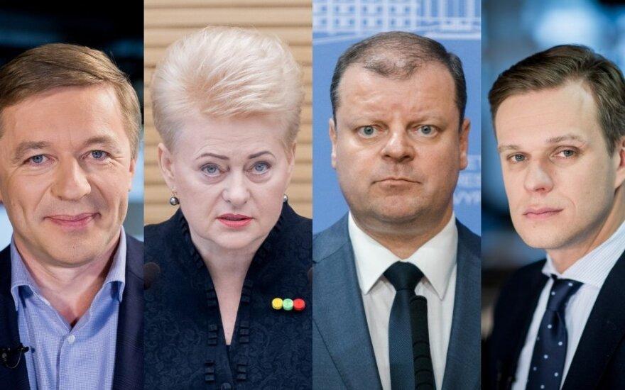 Самые влиятельные в Литве 2018: список политиков