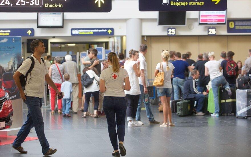Пассажиропоток в аэропортах Литвы в этом году вырос на 3%