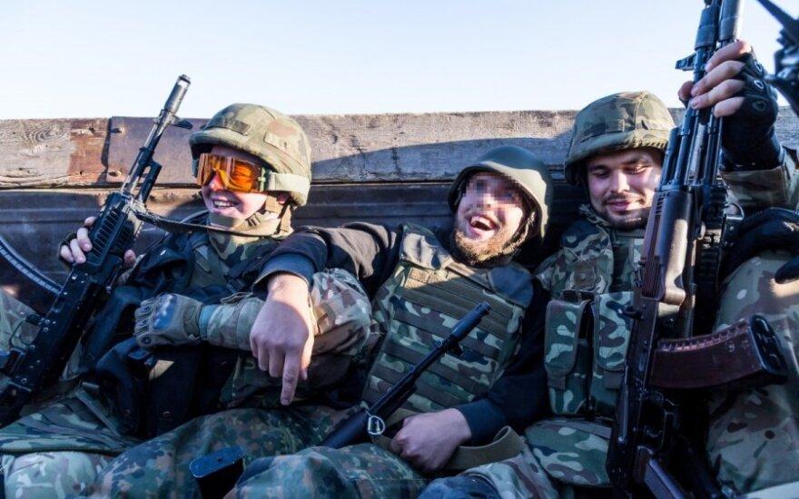 Ukrainoje kovojantys užsieniečiai