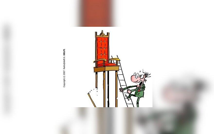 Politikas ir kėdė