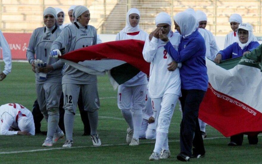 Irano rinktinės futbolininkės