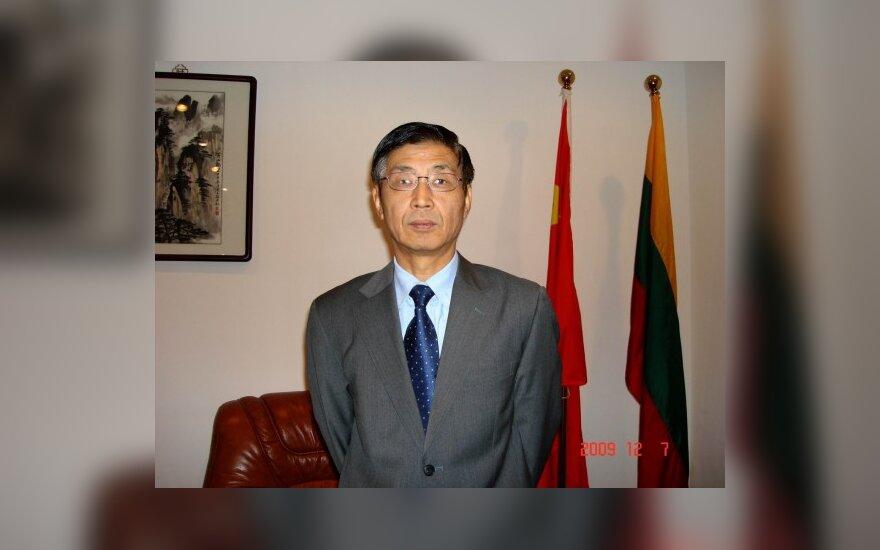 Kinijos ambasadorius Lietuvoje Mingtao Tong, amb. nuotr.