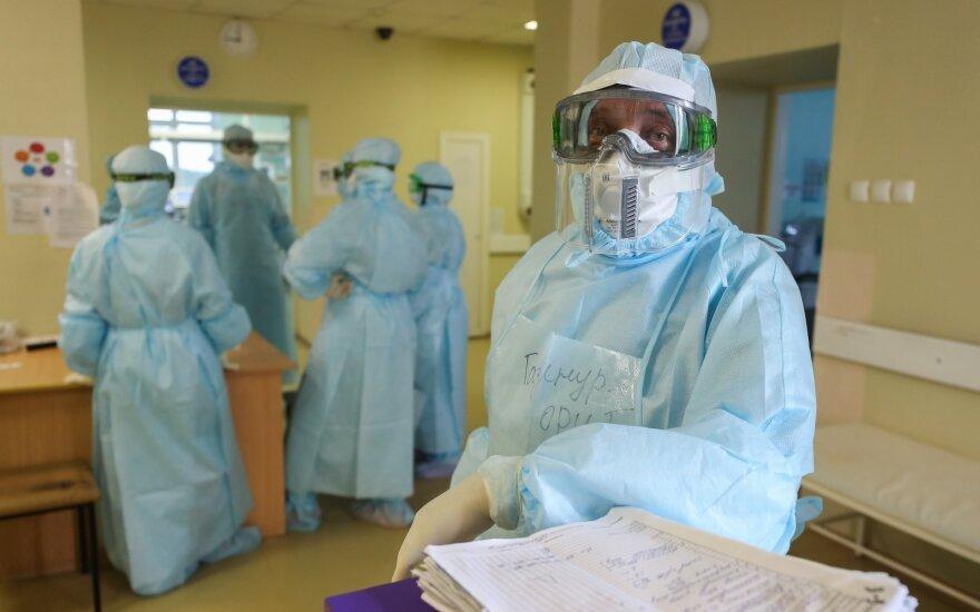 В России выявили 8 371 новый случай коронавируса