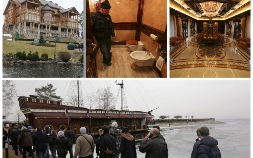 """Роскошь резиденции Януковича шокировала людей, найдены документы """"черной бухгалтерии"""""""