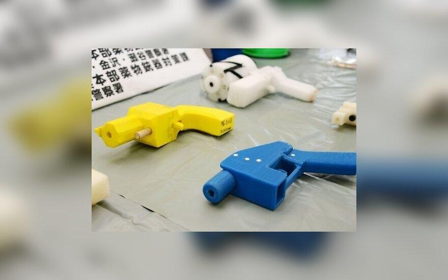 Японца посадили за решетку за напечатанный на 3D-принтере пистолет