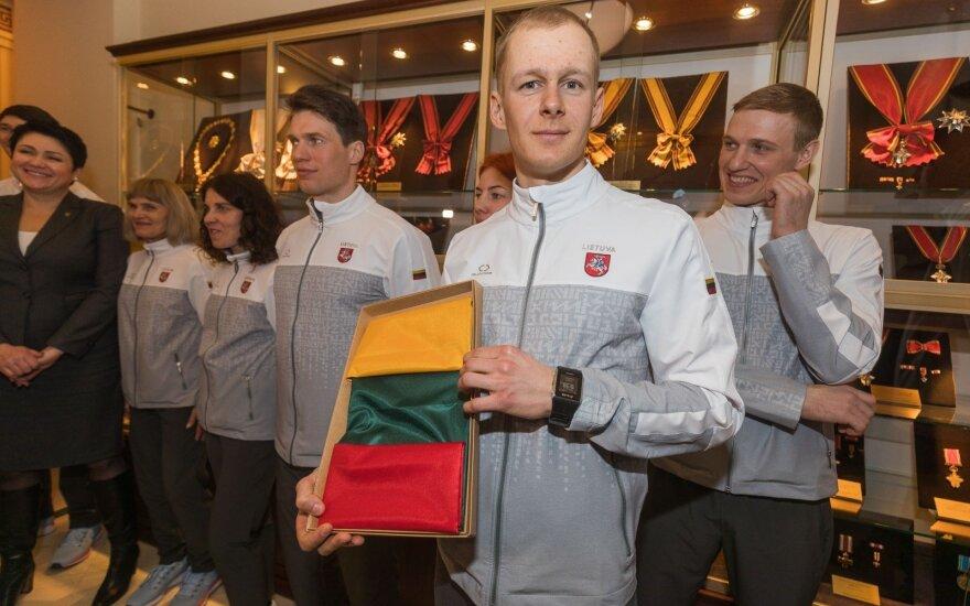 Литовскую сборную проводили на Зимнюю олимпиаду