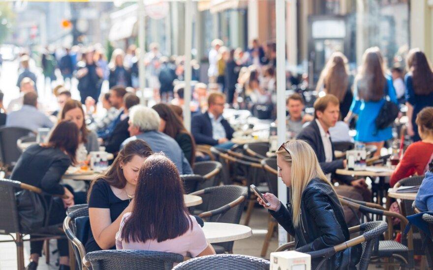 Первого сентября в кафе и ресторанах - наплыв посетителей