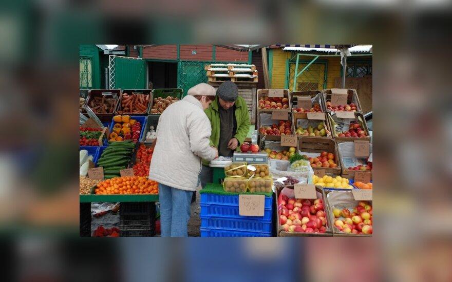 Польские рынки жителей Литвы уже не интересуют