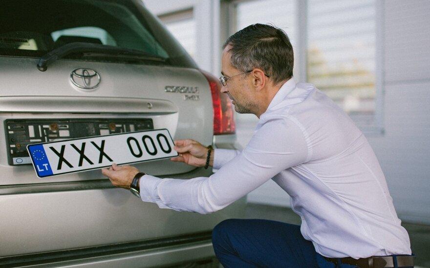 Automobilio valstybinis numeris