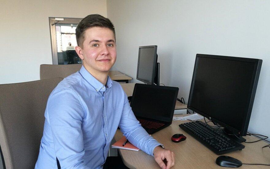 25-летний клайпедчанин стал предпринимателем: об эмиграции даже не думает