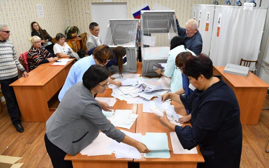ВИДЕО: в Петербурге члена комиссии избили прямо на избирательном участке